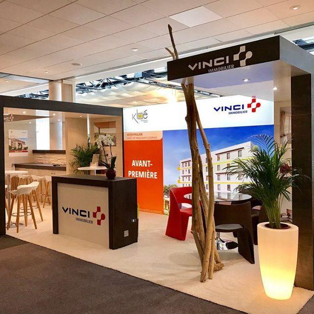 Ralisation et amnagement du stand Vinci Immobilier par EVENTEK depuishellip