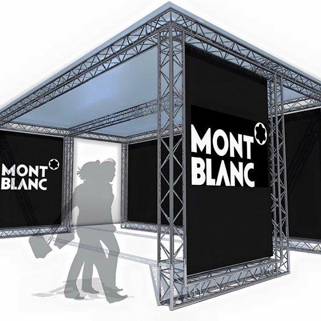 montblanc scenic soiree inauguration decoration light son event eventek